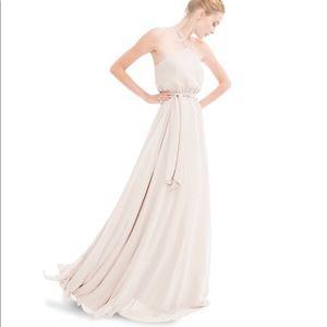Joanna August Allison Long Bridesmaid Dress